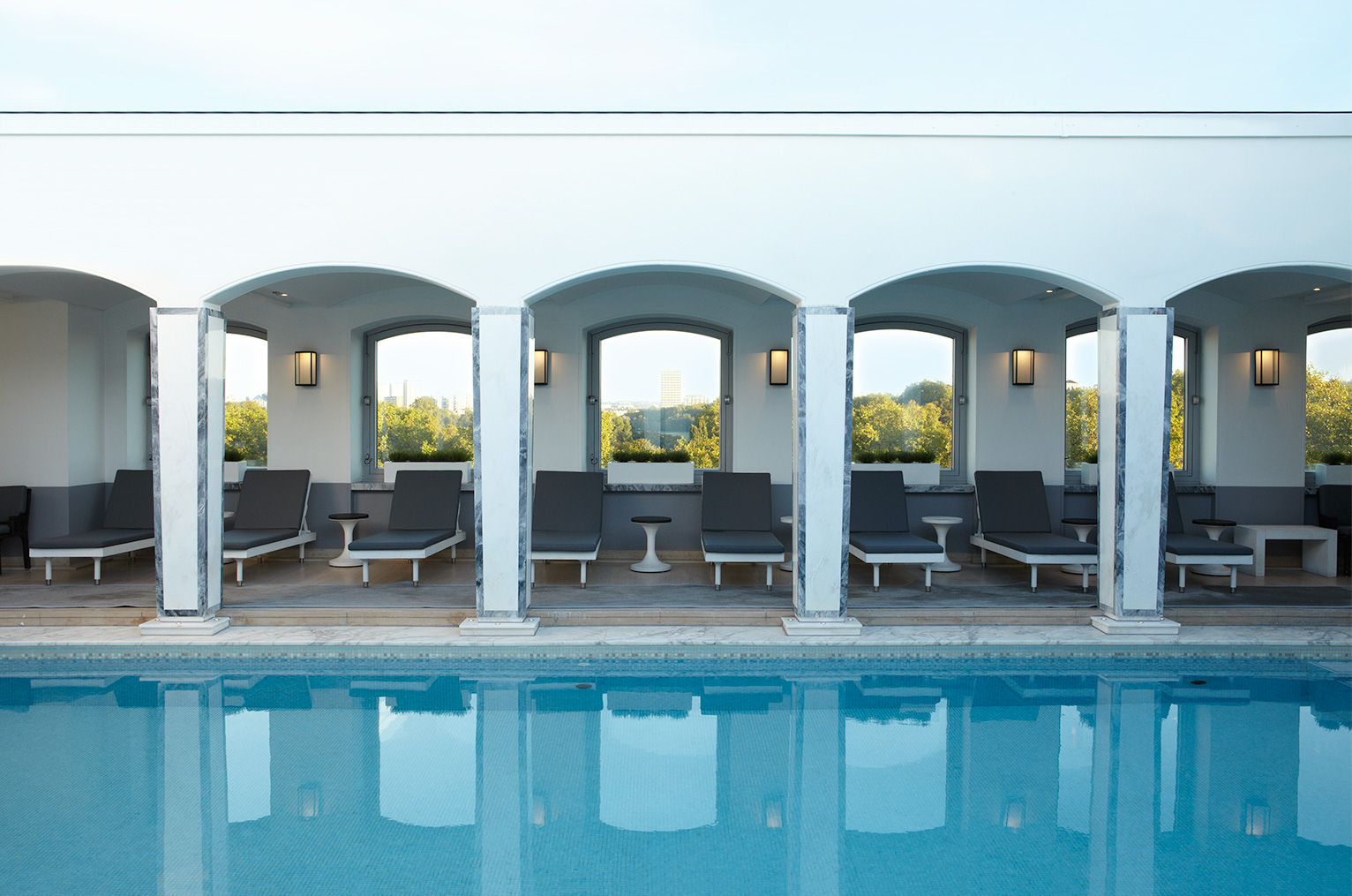 Berkeley Hotel Pool Spencer Fung Architects