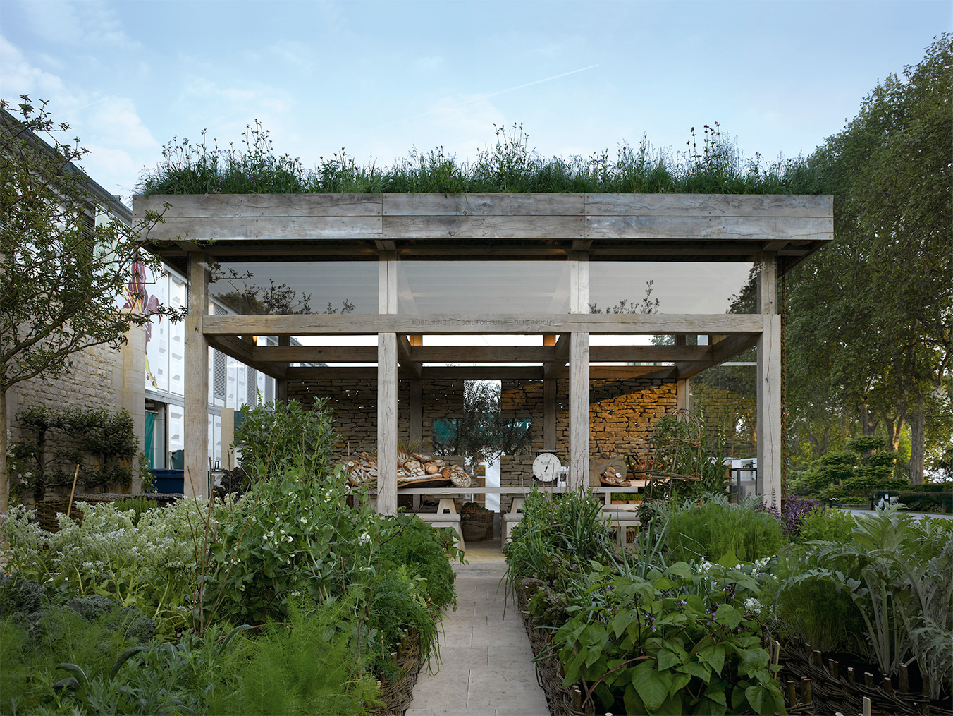 Vegetable Garden Pavilion SPENCER FUNG ARCHITECTS
