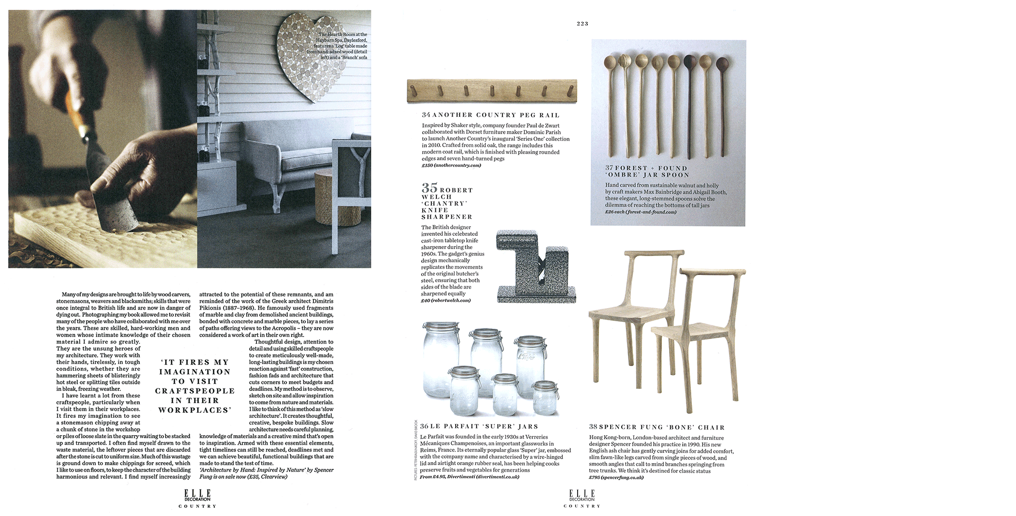 Elle Decoration Country Aw 16 Spencer Fung Architects